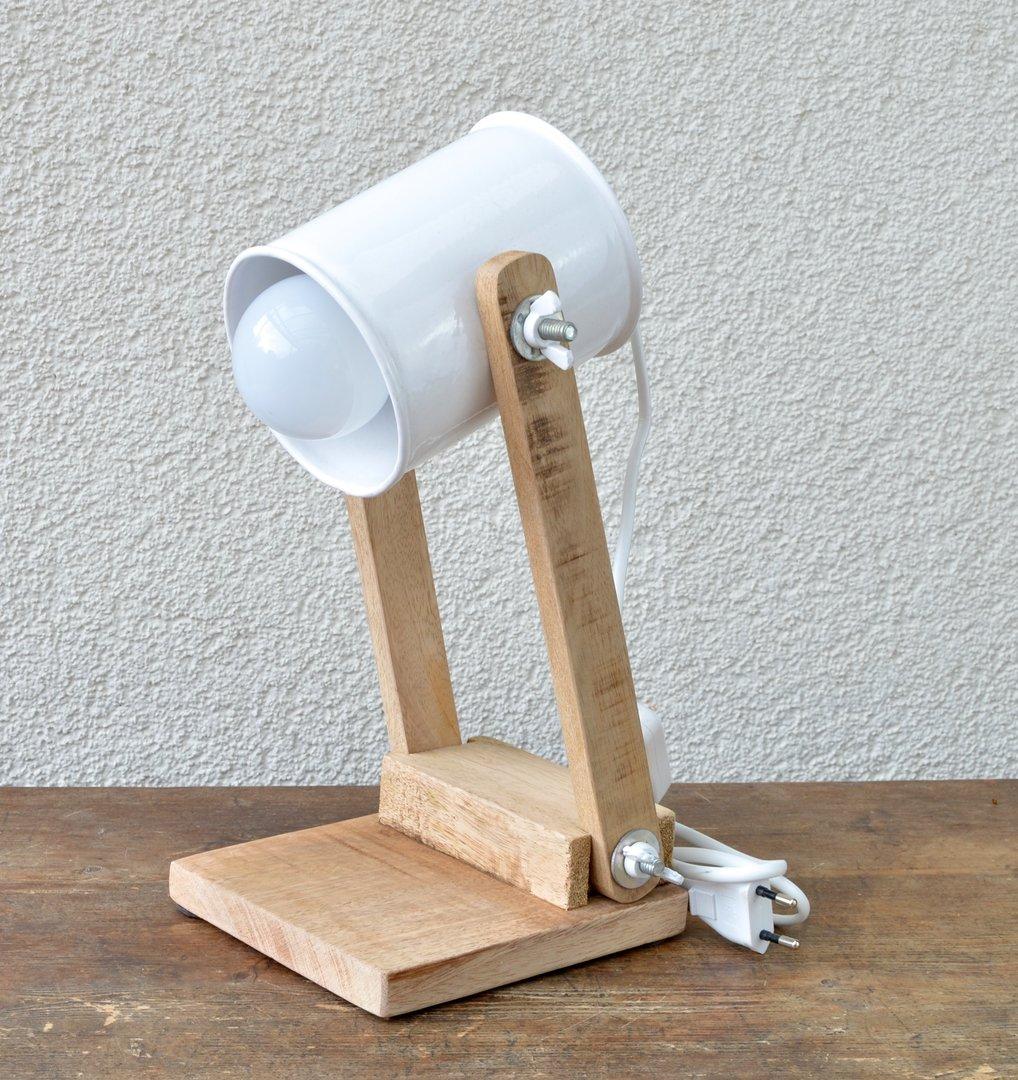 Tischlampe im industrie design vintage retro tischleuchte for Blechtiere garten