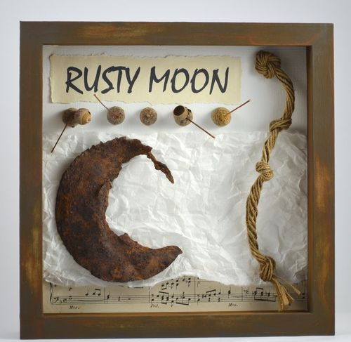 Künstler Collage Rusty Moon